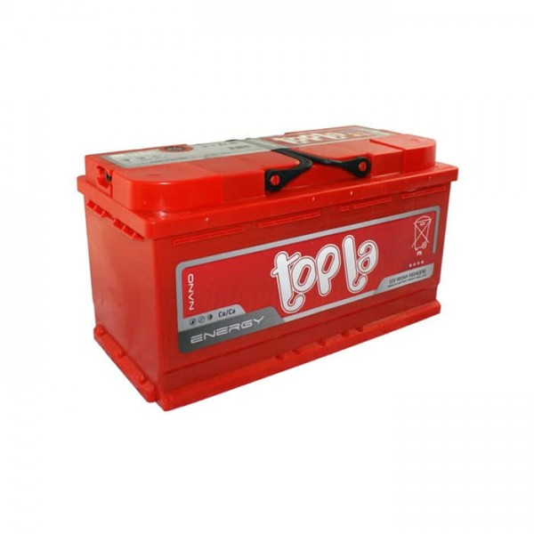 АКБ 6ст 100 ah 900A TOPLA Energy