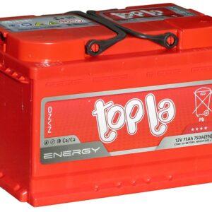АКБ 6ст 75 ah 750A TOPLA Energy