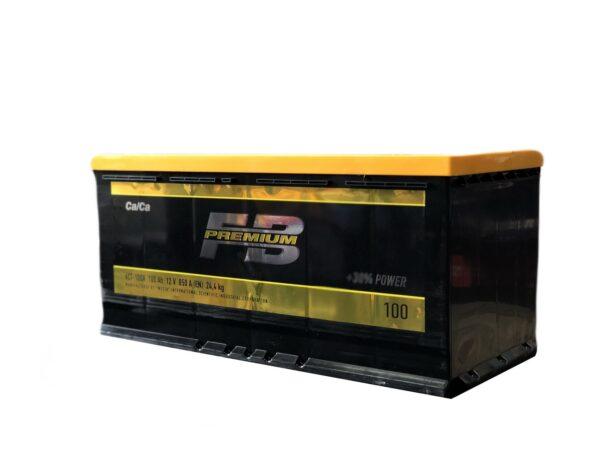 АКБ 6ст 100 ah 850A WESTA Fire Ball Premium