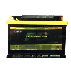 АКБ 6ст 60 ah 600A WESTA Fire Ball Premium