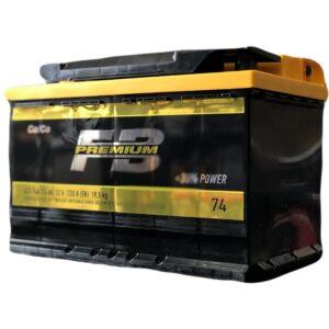 АКБ 6ст 74 ah 720A WESTA Fire Ball Premium