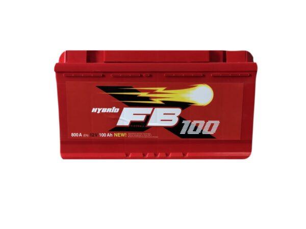 АКБ 6ст 100 ah 800A WESTA Fire Ball Standart